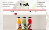 """Responzivní OpenCart šablona """"Fresh Fruits Store"""""""