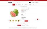 Fresh Fruits Store OpenCart Template