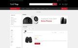 Reszponzív Totertrax Electronics Store OpenCart sablon