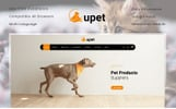 Responsive Upet Pets Store Opencart Şablon