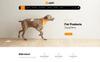 Responsive Upet Pets Store Opencart Şablon Büyük Ekran Görüntüsü