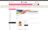 NotePad - Stationary Store Template OpenCart  №77288