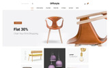 Offistyle - Furniture Shop Template OpenCart  №77294