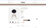 Desk Furniture Store OpenCart Template