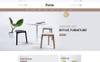 Desk Furniture Store OpenCart Template Big Screenshot