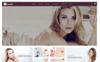 Elegant Cosmetic Store OpenCart Template Big Screenshot