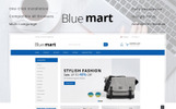 "OpenCart шаблон ""Blue Mart - Online Mega Store"""