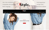 "Modello OpenCart Responsive #78911 ""Style Fashion Store"""