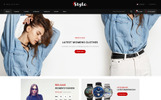 Responsivt Style Fashion Store OpenCart-mall
