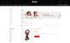Responsivt Style Fashion Store OpenCart-mall En stor skärmdump