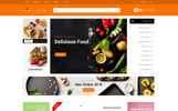 Responsywny szablon OpenCart Martech Food Store #78996