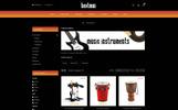 "OpenCart Vorlage namens ""Beatmus - Musical Instrument Store"""