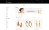 """Responzivní OpenCart šablona """"Onmart - Jewelery Store"""" Velký screenshot"""