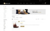 Bootlace Shoes Store OpenCart Template Big Screenshot