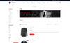 """Responzivní OpenCart šablona """"Lawsuit - Suits Store"""" Velký screenshot"""