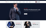 "Tema OpenCart Responsive #79878 ""Lawsuit - Suits Store"""