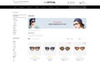 Optical - Eye Glasses Store OpenCart Template Big Screenshot