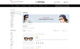 Optical - Eye Glasses Store OpenCart Template