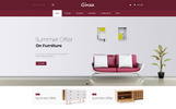 "Tema OpenCart Responsive #79944 ""Ginza - Furniture Store"""
