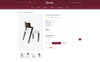 """Ginza - Furniture Store"" Responsive OpenCart Template Groot  Screenshot"
