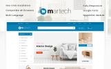 "OpenCart Vorlage namens ""Martech - Furniture Store"""