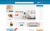"OpenCart Vorlage namens ""Martech - Furniture Store"" Großer Screenshot"