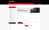 Wader Sports Shoes Store OpenCart Template Big Screenshot