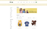 """Kidpay - Kids Store"" thème OpenCart adaptatif"