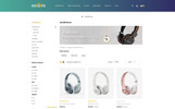 """Hoofs - Headphone Store"" thème OpenCart adaptatif"