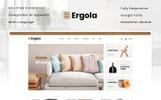Responsywny szablon OpenCart Ergola - Furniture Store #81362