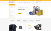 Spareart - Automobile Store OpenCart Template Big Screenshot