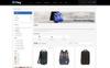 Poky - Travle Bag Store PrestaShop Theme Big Screenshot
