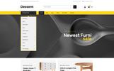 """Deccent Furniture Store"" Responsive WooCommerce Thema"