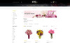 Flowers Bouquet OpenCart Template Big Screenshot