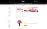 Flowers Bouquet OpenCart Template