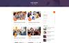 Eventre Website Template Big Screenshot