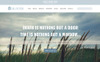 "PSD šablona ""Salvation - Church & Funeral Home Landing Page"" Velký screenshot"
