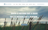 "PSD šablona ""Salvation - Church & Funeral Home Landing Page"""