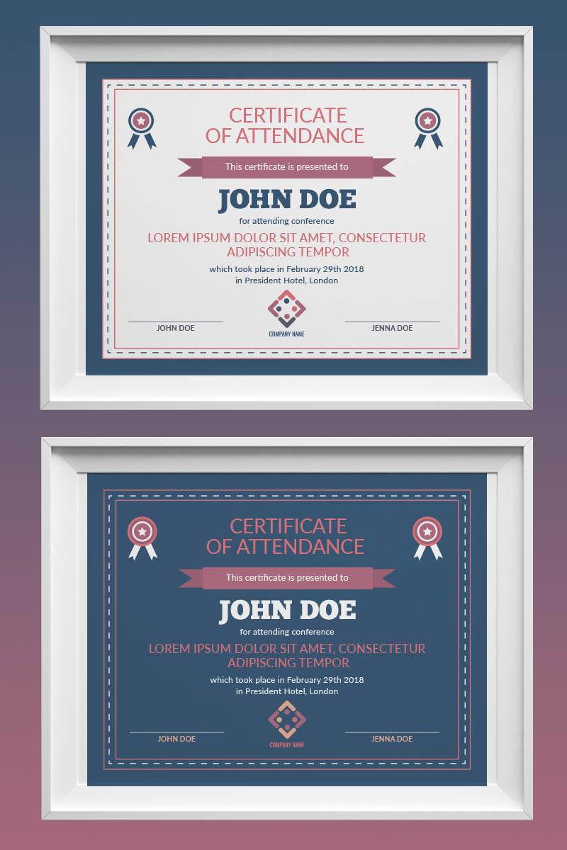 Retro certificate template 73435 maxwellsz