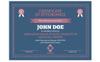 Retro Certificate Template Big Screenshot