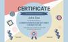 Memphis Award Certificate Template Big Screenshot