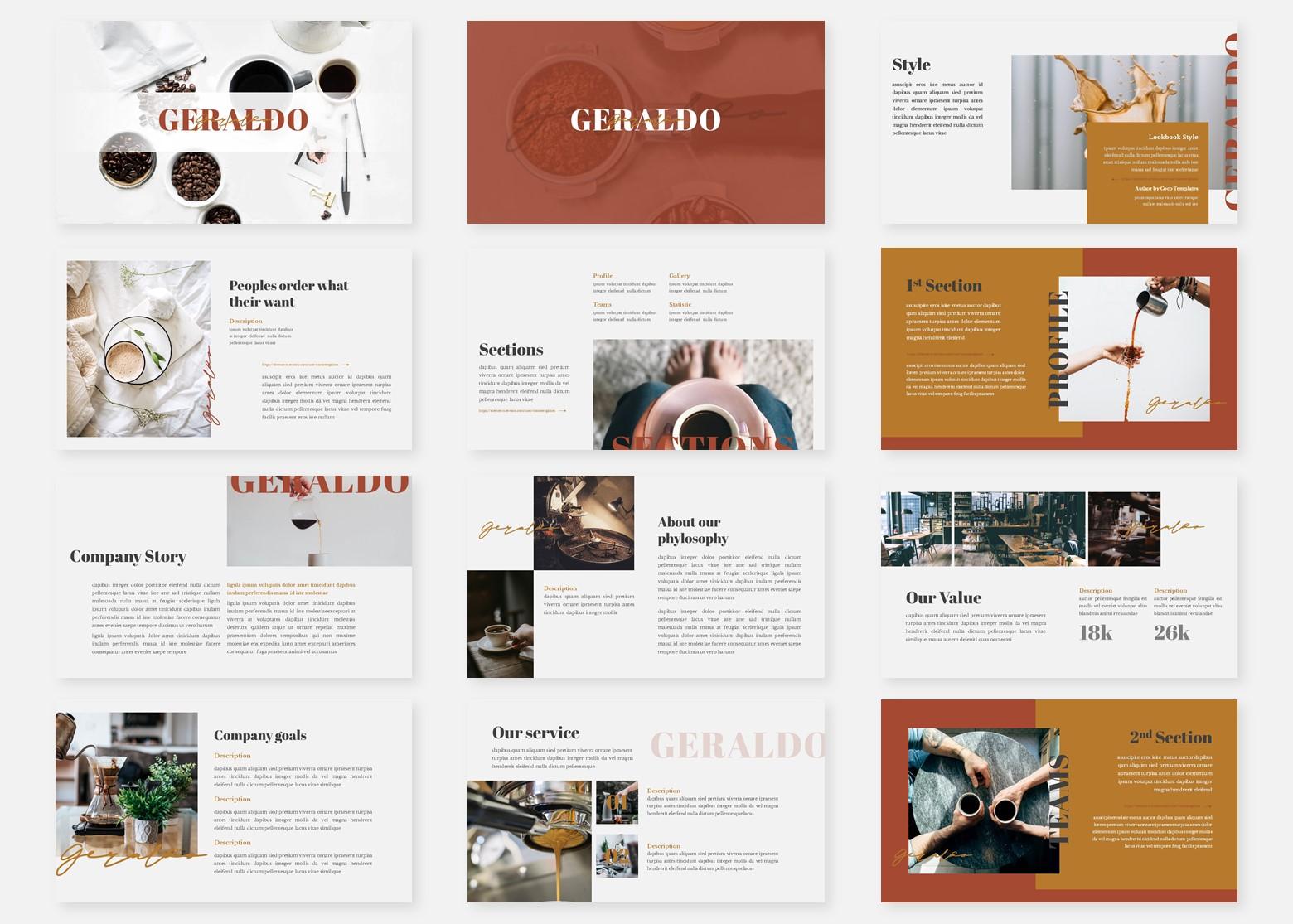 Geraldo - Multipurpose PowerPoint Template