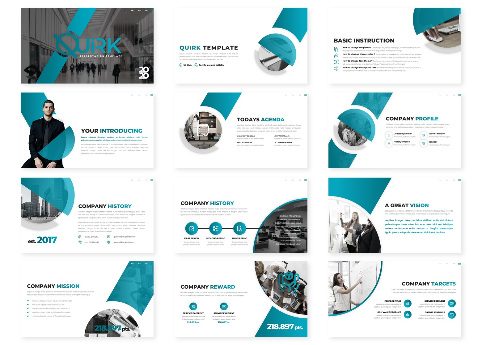 Quick - Multipurpose PowerPoint Template