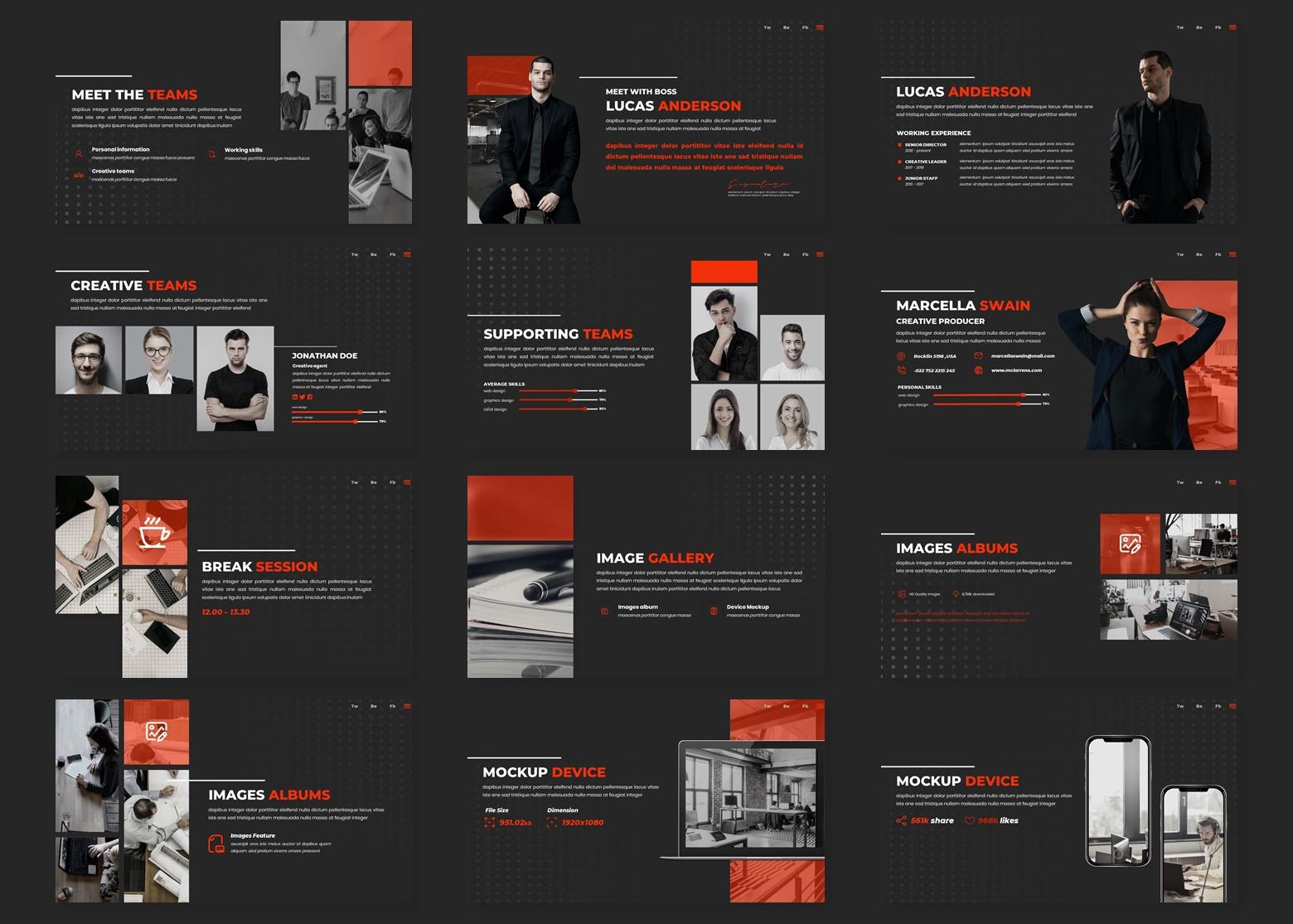 Locker - Multipurpose PowerPoint Template