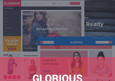 Glorious - Multipurpose Online Marketplace