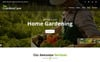 "HTML шаблон ""GardenCare - Gardening For Flowers, Fruits, Vegetable Planting & Landscaping"" Большой скриншот"