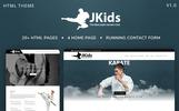 JKids - Judo Karate and Martial Art HTML Website Template
