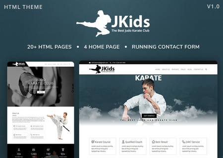 JKids - Judo Karate and Martial Art Html
