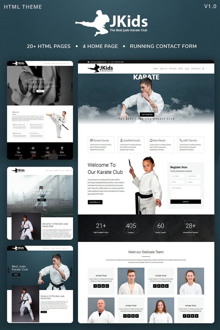 karate powerpoint template.html