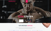 InShape: Gym, Body Building, Fitness Website Template Big Screenshot